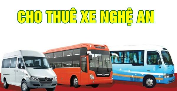 Cho thuê xe tại Vinh Nghệ An